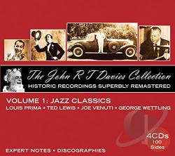 Davies, John R.T. - John R.T. Davies Collection: Vol. 1: Jazz Classics CD Cover Art