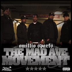 Sparks, Omillio - Mad Ave Movement CD Cover Art