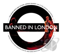 Aruan Ortiz and Michael Janisch Quintet / JANISCH, MICHAEL / Ortiz, Aruan - Banned In London: Live At The London Jazz Festival CD Cover Art