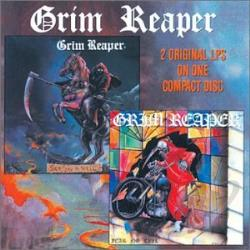 Grim Reaper - See You in Hell/Fear No Evil CD Cover Art