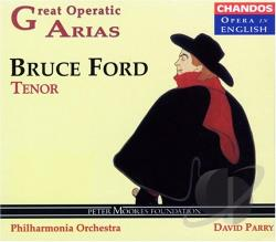 Ford, Bruce - Great Operatic Arias CD Cover Art