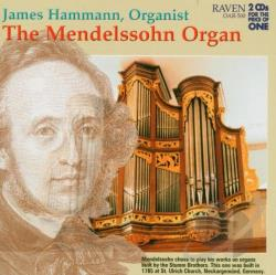Mendelssohn, F. - Mendelssohn Organ CD Cover Art