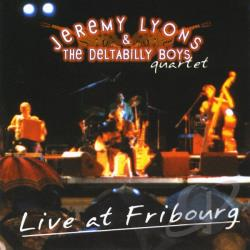 Lyons, Jeremy - Live at Fribourg CD Cover Art