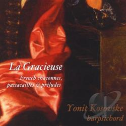 Yonit Kosovske - La Gracieuse CD Cover Art