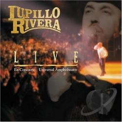Rivera, Lupillo - Live CD Cover Art