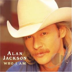 Jackson, Alan - Who I Am CD Cover Art