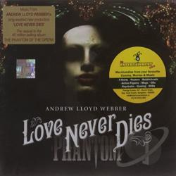 Webber, Andrew Lloyd - Love Never Dies CD Cover Art
