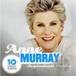 Murray, Anne - 10 Great Songs Inspiration CL CD Cover Art
