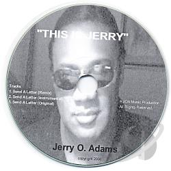 Adams, Jerry - This Is Jerry CD Cover Art
