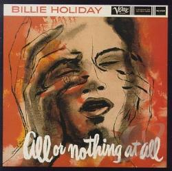 Holiday, Billie - All or Nothing at All CD Cover Art