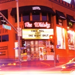 Neil, Vince - Live at the Whisky: One Night Only CD Cover Art