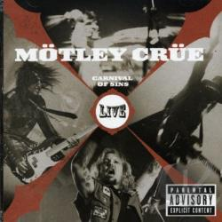 Motley Crue - Carnival of Sins: Live, Vols. 1-2 CD Cover Art