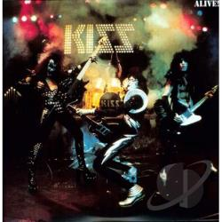Kiss - Alive! LP Cover Art