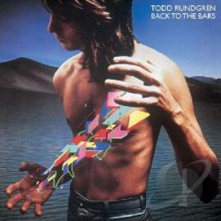 Rundgren, Todd - Back to the Bars CD Cover Art