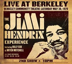 Hendrix, Jimi / Hendrix, Jimi Experience - Live at Berkeley CD Cover Art