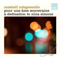Ndege'Ocello, Me'Shell - Pour Une Ame Souveraine: A Dedication to Nina Simone LP Cover Art