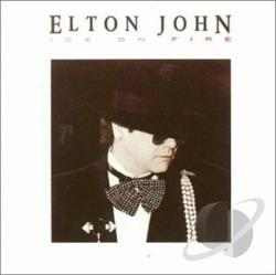 John, Elton - Ice on Fire CD Cover Art