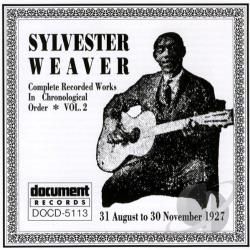 Weaver, Sylvester - Complete Recorded Works, Vol. 2 (1927) CD Cover Art