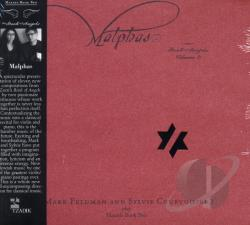 Feldman, Mark - Malphas: Book of Angels, Vol. 3 CD Cover Art