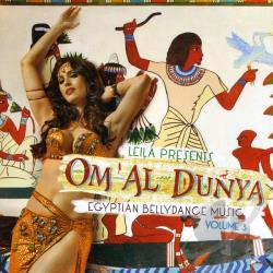 Leila in Egypt - Om al Dunya CD Cover Art