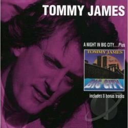 James, Tommy - Night In... Big City: An Audio-Movie CD Cover Art