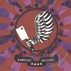 Backstabbers Inc. - Kamikaze Missions CD Cover Art