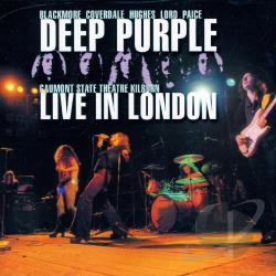 Deep Purple - Live in London 1974 CD Cover Art