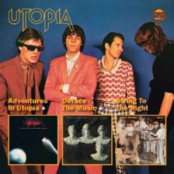 Utopia - Adventures in Utopia/Deface the Music/Swing to the Right CD Cover Art