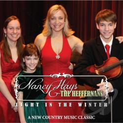 Nancy Hays & the Heffernans - Light In The Winter Line Dance & Radio Version CD CD Cover Art
