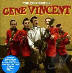 Vincent, Gene - Very Best of Gene Vincent CD Cover Art