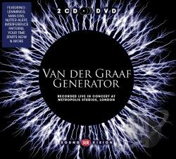 Van Der Graaf Generator - Recorded Live in Concert at Metropolis Studios, London CD Cover Art