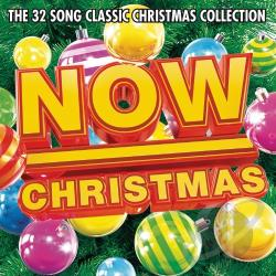 NOW Christmas CD Cover Art