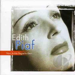 Piaf, Edith - Non, Je Ne Regrette Rien CD Cover Art