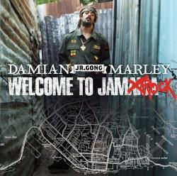 Damian Junior Gong Marley - Welcome to Jamrock CD Cover Art