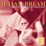 Bream, Julian - Julian Bream Ultimate Collection Vol. 2 CD Cover Art