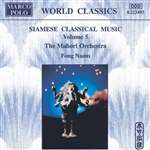 Fong Naam - Siamese Classical Music, Vol. 5 CD Cover Art
