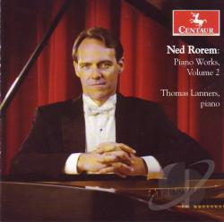 Recalling; A Quiet Afternoon; - Ned Rorem: Piano Works, Vol. 2 CD Cover Art