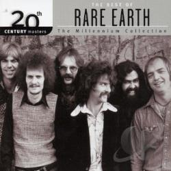 Rare Earth - 20th Century Masters: The Millennium Collection: Best of Rare Earth CD Cover Art