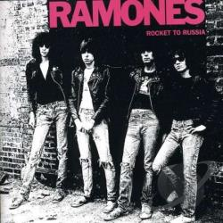 Ramones - Rocket to Russia CD Cover Art