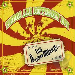 Lovemonkeys - Things Are Different Now CD Cover Art