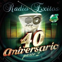 Radio Exitos: 40 Aniversario, Vol. 2 CD Cover Art