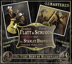 Flatt & Scruggs - Selected Sides 1947-1953: The Very Best of Bluegrass CD Cover Art