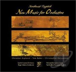 Asplund / Baker / Delaurenti - Northwest Triptych: New Music for Orchestra CD Cover Art