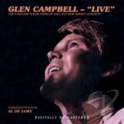 Campbell, Glen - Glen Campbell: Live CD Cover Art