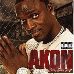 Akon - In My Ghetto Vol 2 CD Cover Art