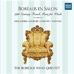 Borealis Wind Quintet / Taffanel - Borealis en Salon: 19th Century French Music for Winds CD Cover Art