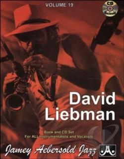 David Liebman CD Cover Art