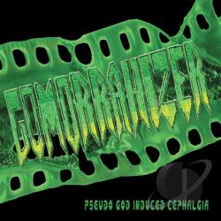 Gomorrahizer - Pseudo God Induced Cephalgia CD Cover Art