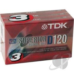 D120s3 - D-120s3 Normal Bias Cassettes - 3 Pack Cover Art