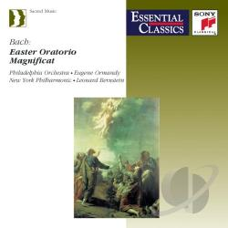 Bach - Bach: Easter Oratorio, Magnificat / Ormandy, Bernstein CD Cover Art